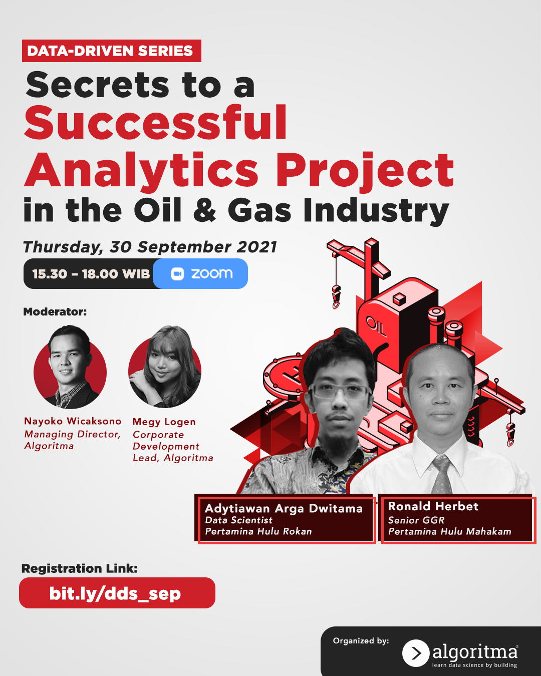 DDS: Secrets to a Successful Analytics Project in the Oil and Gas Industry