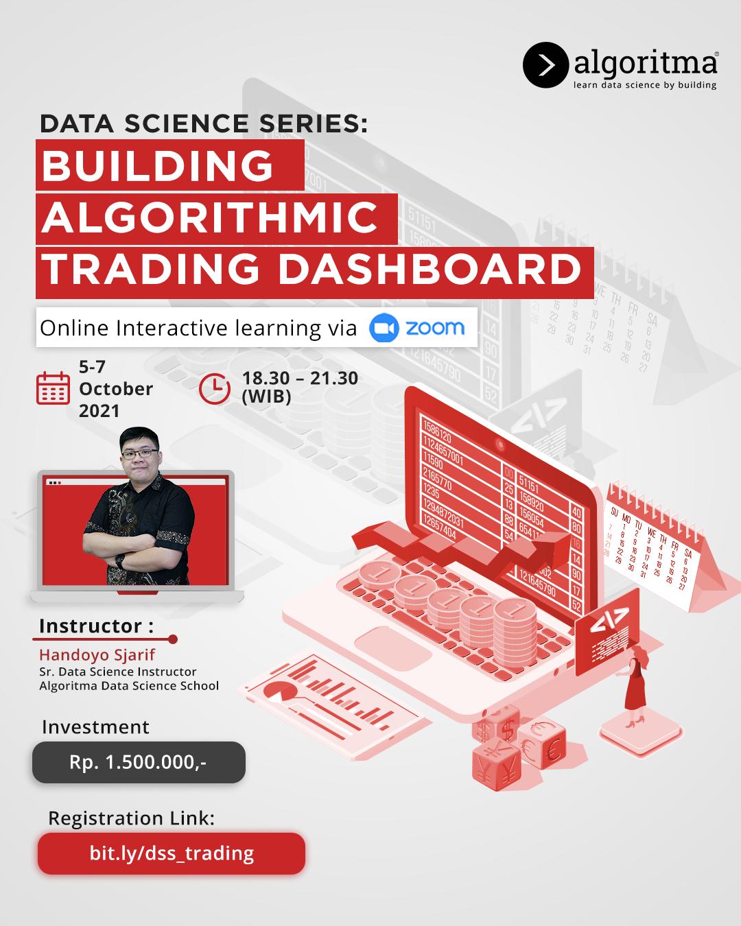 Building Algorithmic Trading Dashboard